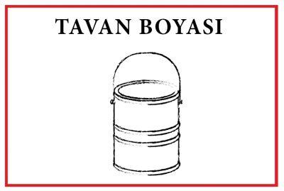 Dekoras Tavan Boyası